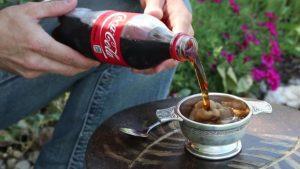 Cocacola congelata