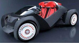 auto elettrica stampante 3d