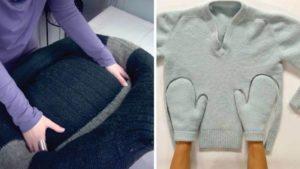 maglione riciclo video