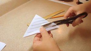 carta forbici foglio fiocco di neve video